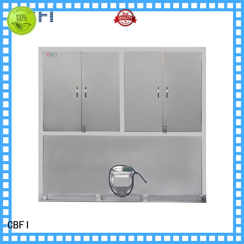 CBFI per commercial ice cube machine manufacturer for freezing
