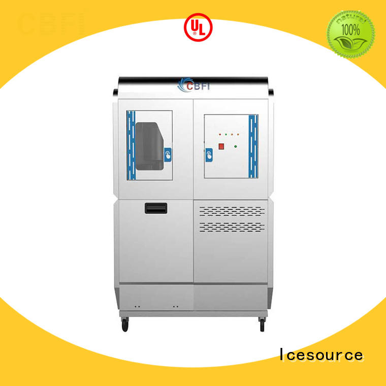 CBFI series Edible Flake Ice Machine overseas market for fish market