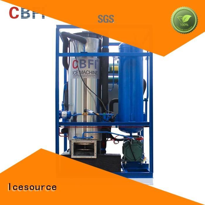 CBFI hotels ice tube machine manufacturers marketing for fruit preservation