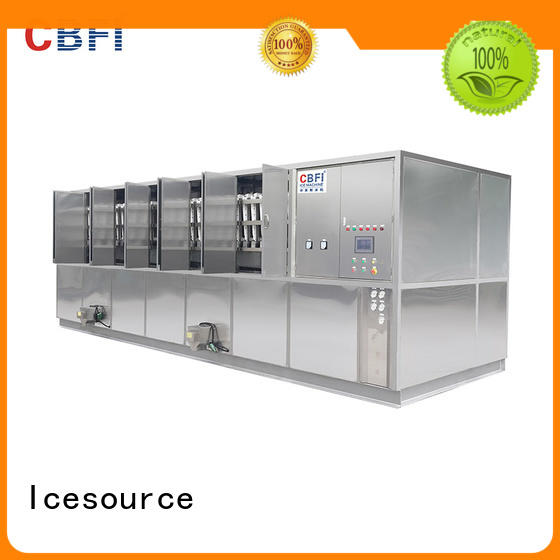 CBFI long-term used cube ice machine factory price for vegetable storage