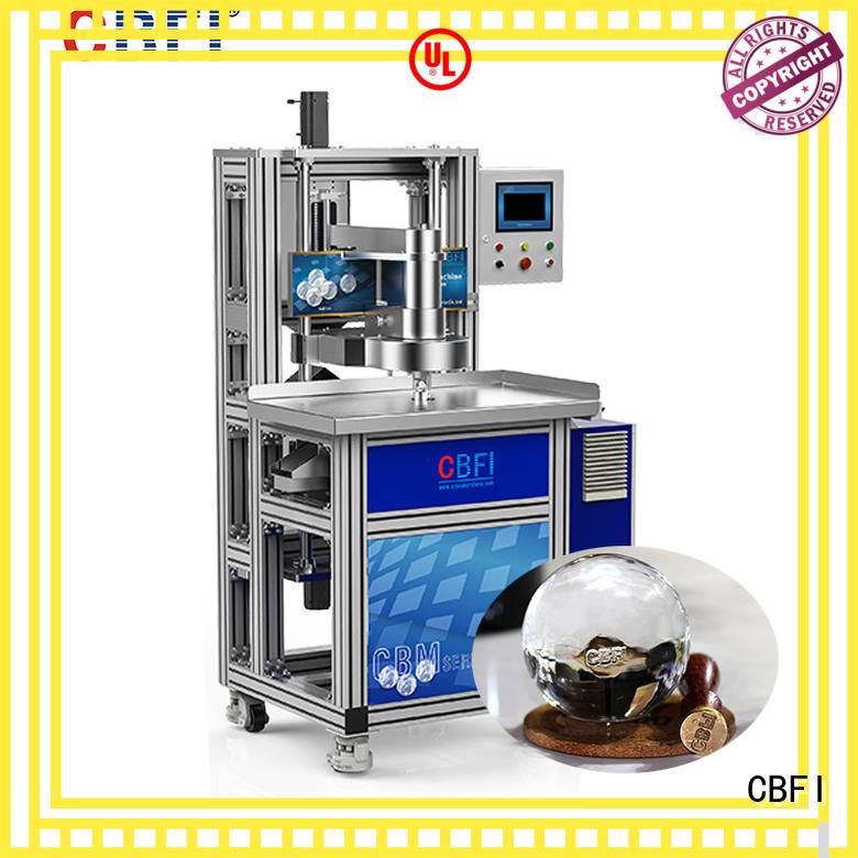 CBFI cbfi ice sphere maker free design for ice bar