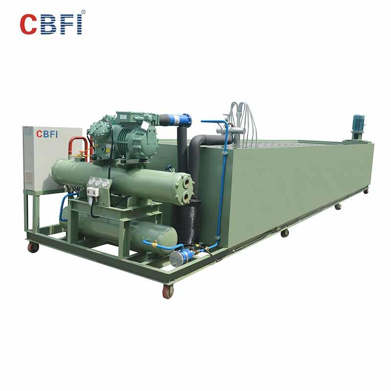 CBFI-Commercial Ice Block Making Machine | Cbfi Bbi100 10 Tons Per Day Ice Block