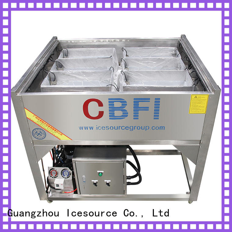CBFI ice Pure Ice Machine free quote for wine cooling