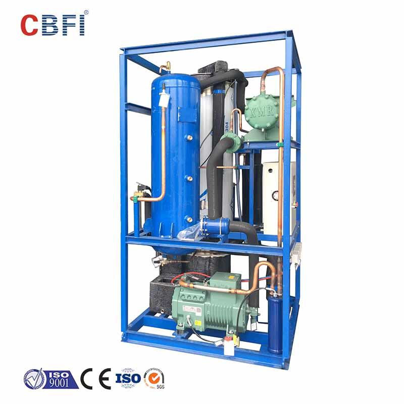 CBFI-Manufacturer Of Ice Tube Making Machine Cbfi Tv30 3 Tons Per Day Ice Tube