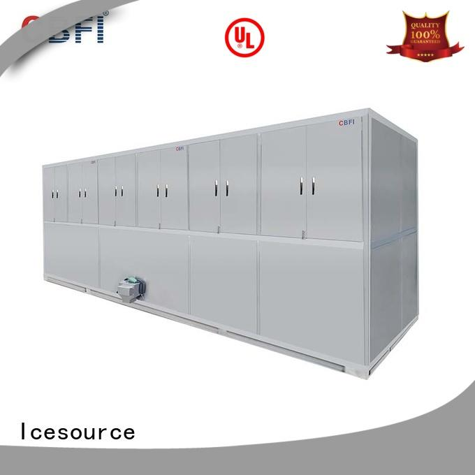 CBFI widely used industrial ice cube machine capacity for fruit storage