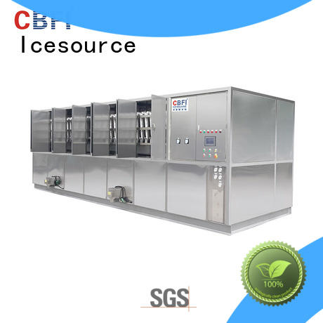CBFI best ice cube machine manufacturers factory for freezing