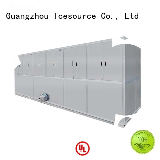 CBFI high reputation industrial ice cube machine manufacturer for vegetable storage