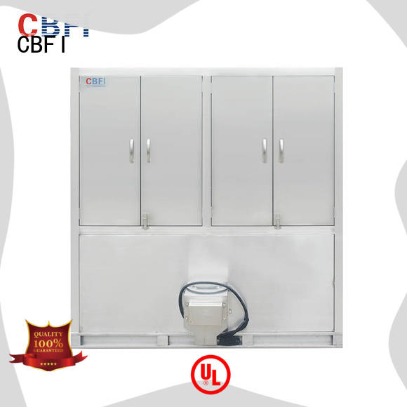 CBFI high reputation industrial ice cube making machine from china for vegetable storage