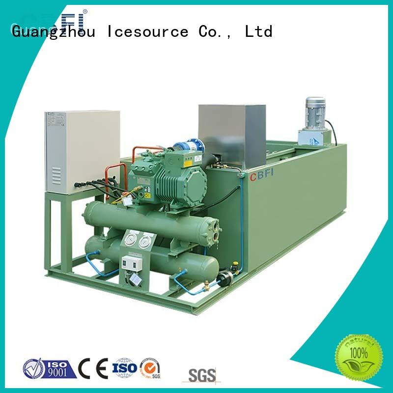 CBFI coil industrial ice block machine for wholesale for meat preservation