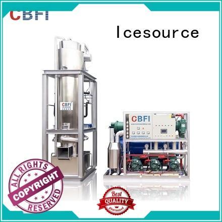 CBFI tons ice tube maker machine manufacturer for beverage cooling