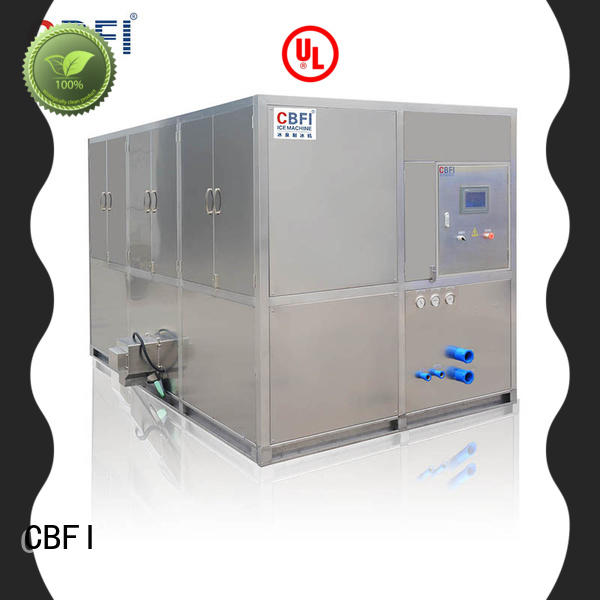 CBFI high reputation commercial ice cube machine customized for vegetable storage