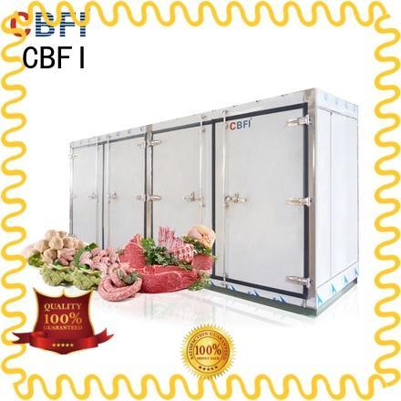 CBFI blast freezer factory