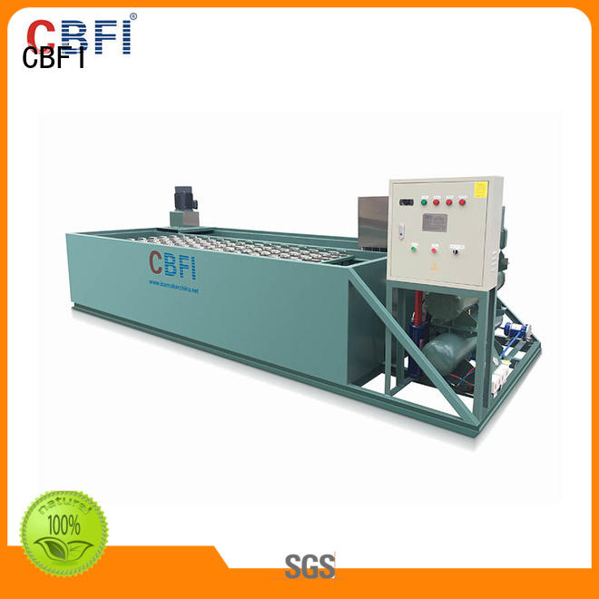 CBFI durable block ice making machine bulk production for vegetable preservation