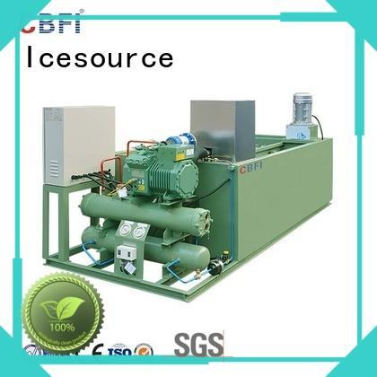 CBFI machine industrial ice block machine overseas market