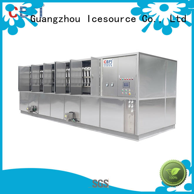 CBFI bars large ice cube machine order now for vegetable storage