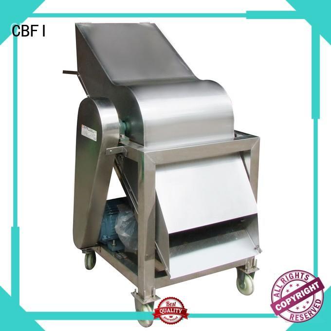 CBFI cbfi ice crusher machine in china for vegetable preservation