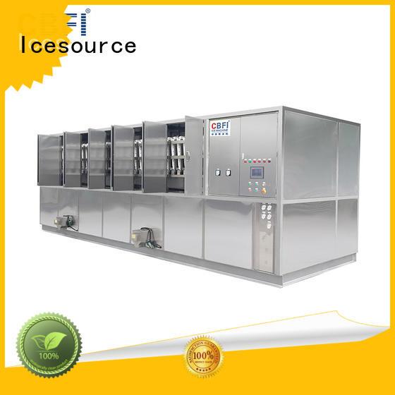 CBFI large large ice cube machine supplier for freezing