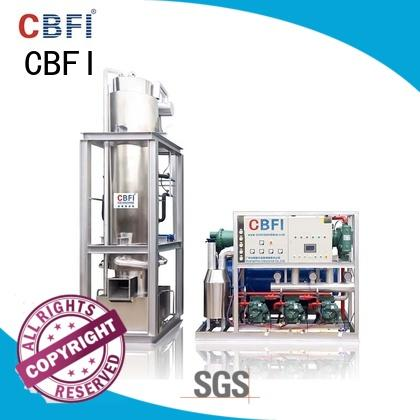 CBFI mechanical tube ice maker machine philippines producer for cafe