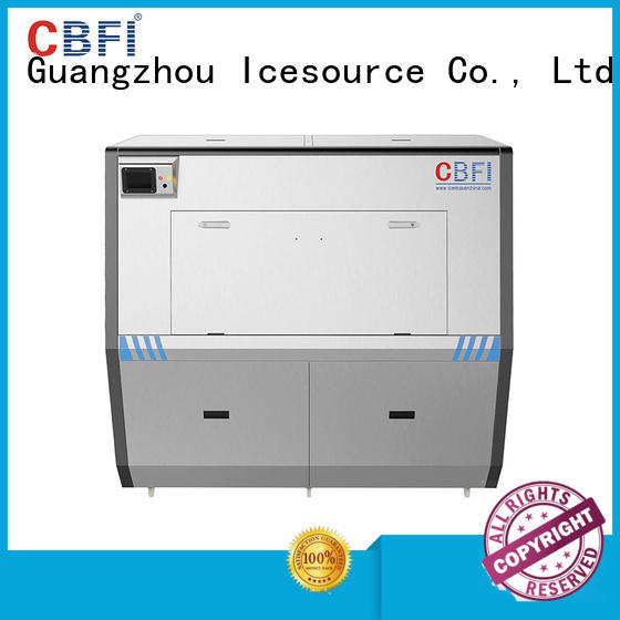 CBFI size Pure Ice Machine free quote for wine cooling