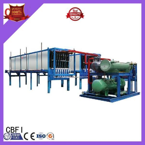 CBFI direct block ice machine maker factory price for vegetable storage