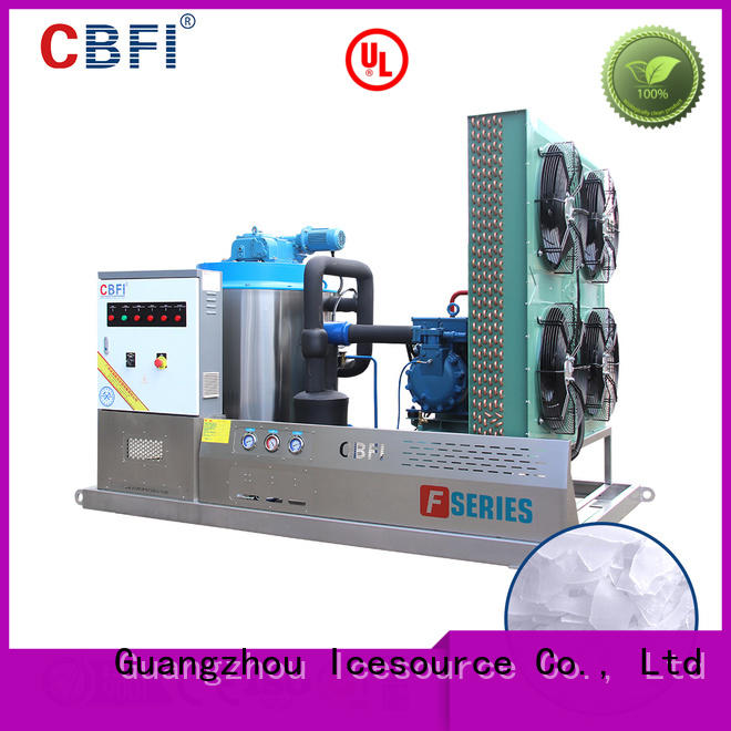 fine- quality industrial flake ice machine maker free design for ice making