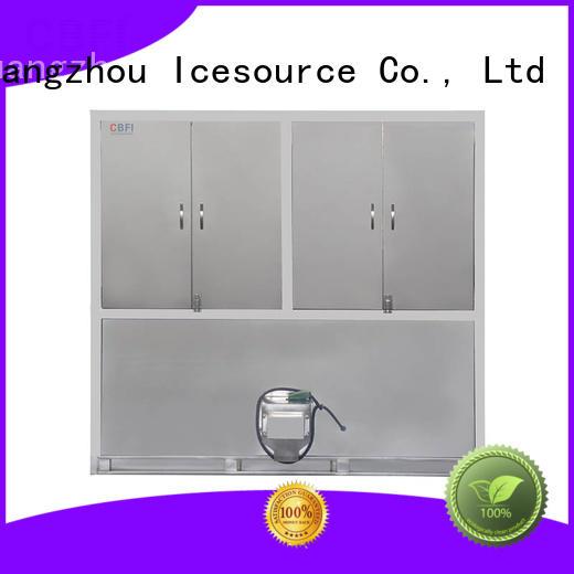 CBFI control large ice cube machine newly for freezing