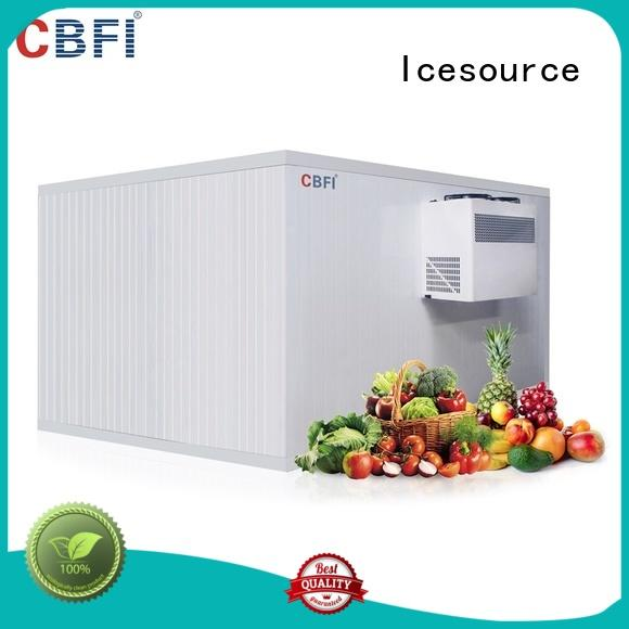 cbfi vegetable cold storage room factory price for fruit storage