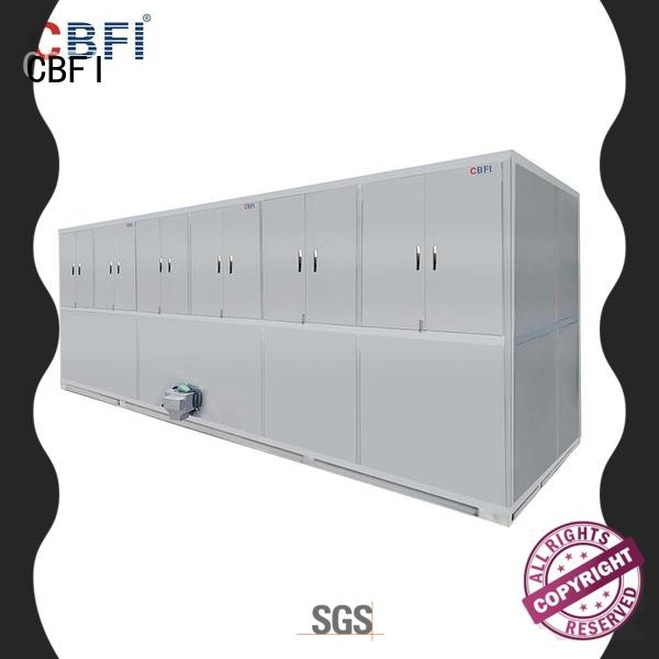 CBFI CV10000 10 Tons Per Day Cube Ice Maker With PLC Controller