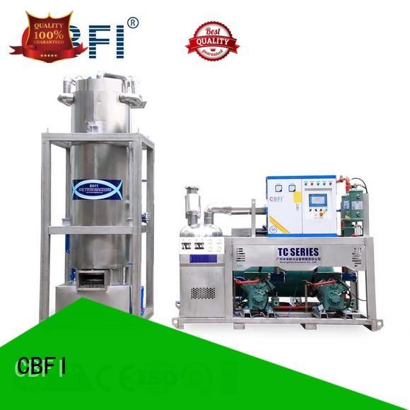 CBFI nugget ice machine bulk production for restaurant