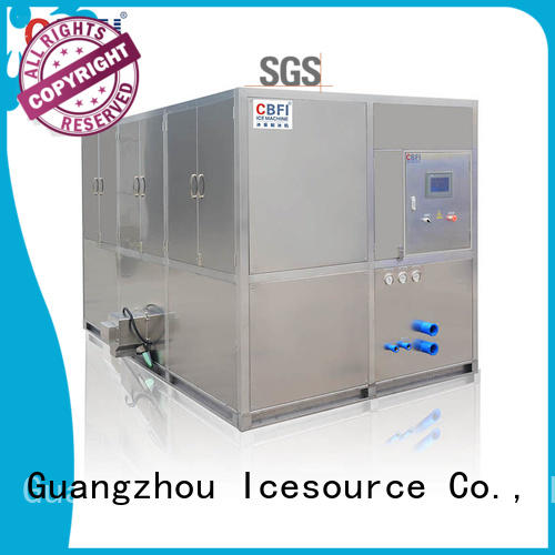 CBFI capacity large ice cube machine manufacturer for vegetable storage