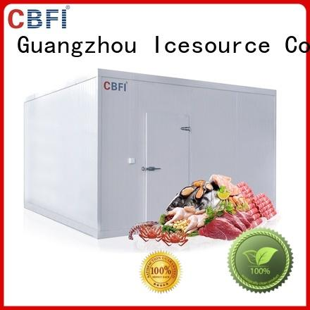 CBFI chickens fish and meat cold room in china for beef