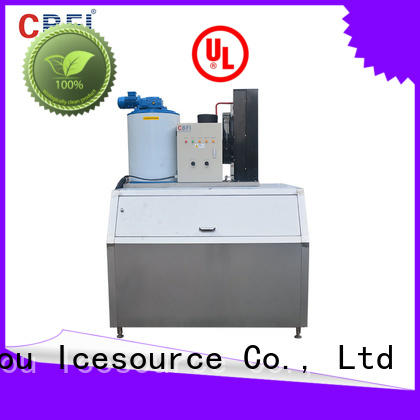 CBFI containerized ice flaker machine price free quote for water pretreatment