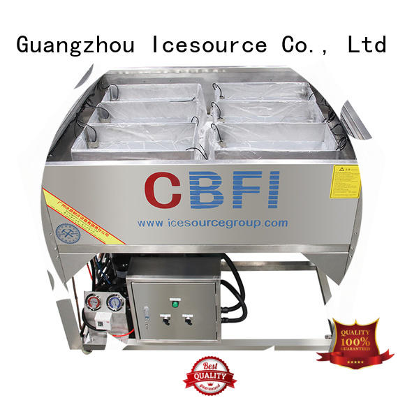 CBFI professional Pure Ice Machine widely-use for ice sculpture shaping