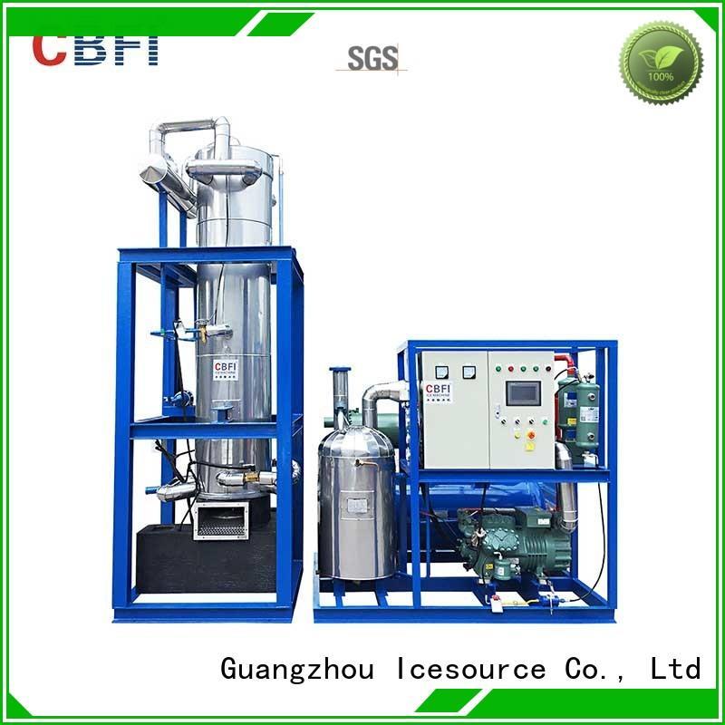 Custom plant ice tube making machine ce CBFI