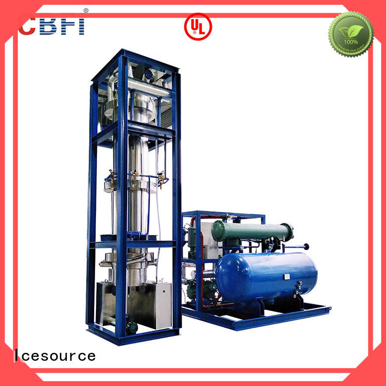 CBFI durable ice machine for sale free design for aquatic goods