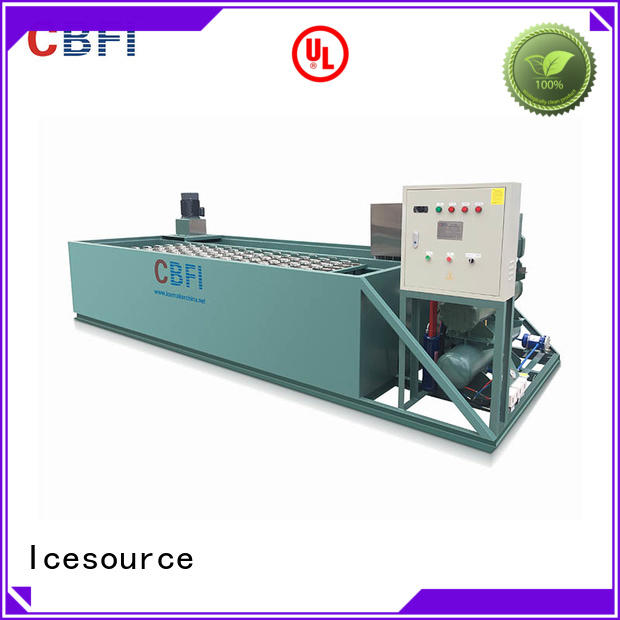 CBFI easy to use industrial ice block machine long-term-use for crushing ice