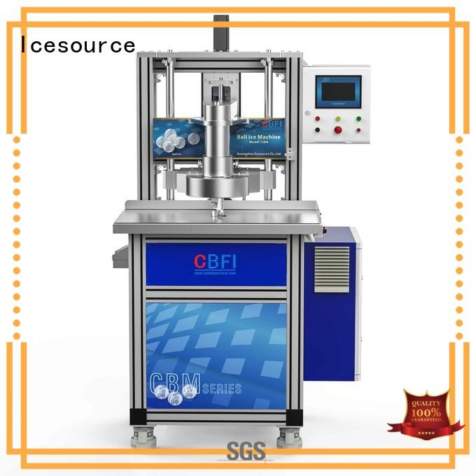 CBFI high-quality ball ice machine in china for cooling