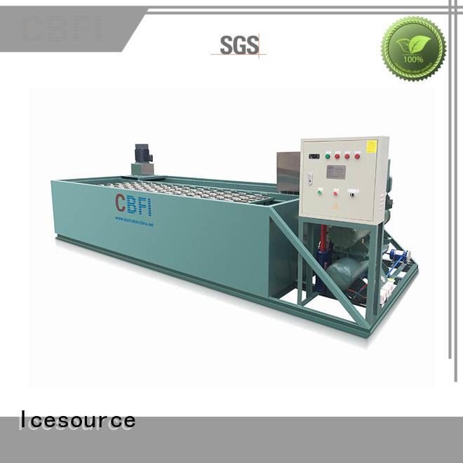 CBFI inexpensive ice block making machine goods for fresh seafood