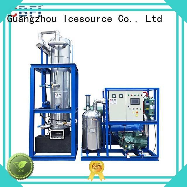 automatic usage ice tube making machine drinks CBFI Brand company