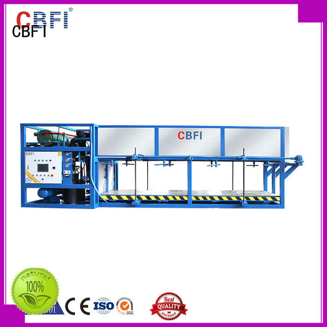CBFI reliable domestic ice maker machine customized for fruit storage