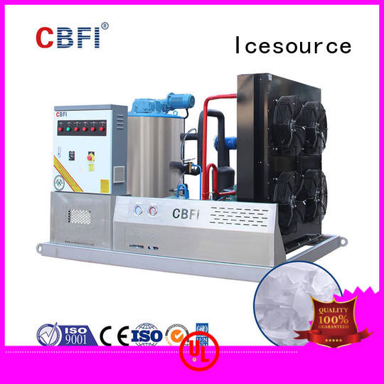 inexpensive industrial flake ice machine concrete widely-use for restaurant