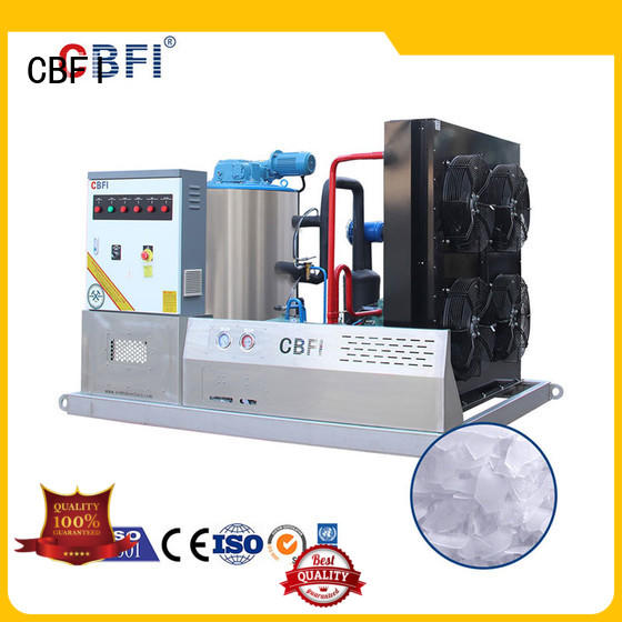CBFI tons ice flaker machine price widely-use for ice making
