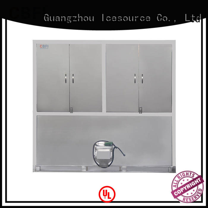 high-quality industrial ice cube machine ton customized for freezing