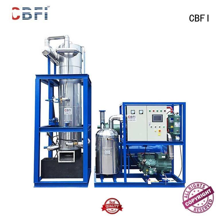 CBFI mechanical tube ice machine for sale marketing for supermarket