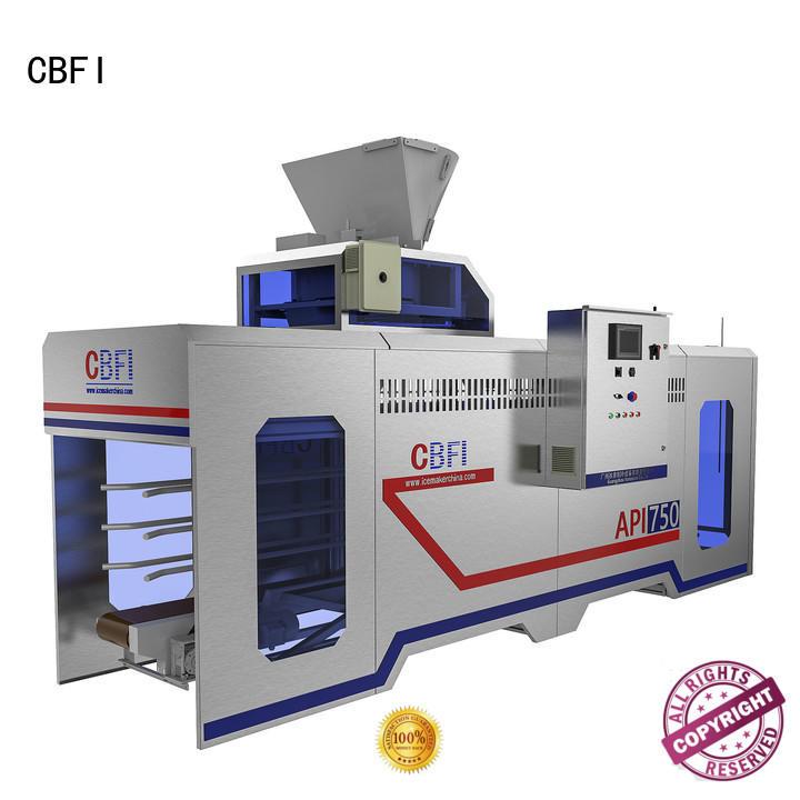 ice ice cream packaging machine cbfi for ice sculpture shaping CBFI