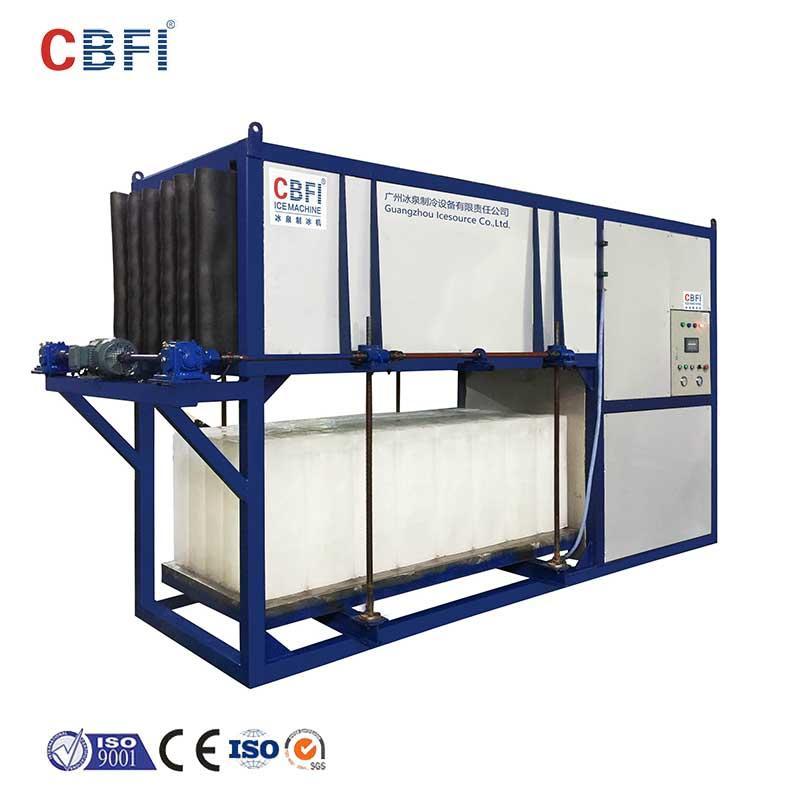 CBFI-Commercial Block Ice Maker Cbfi Abi50 5 Tons Per Day Direct Cooling Block