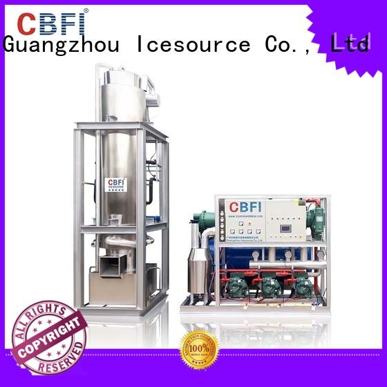 CBFI ice tube machine price manufacturer for ice sculpture