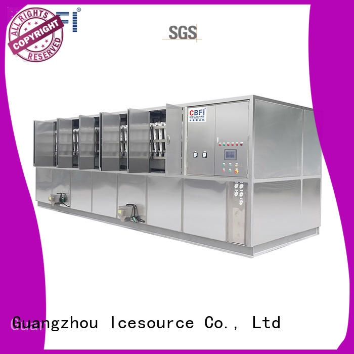 CBFI day commercial ice cube machine from china for vegetable storage