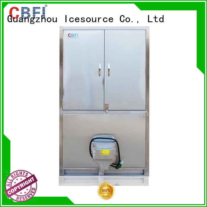 CBFI high reputation ice cube machine manufacturers factory price for freezing