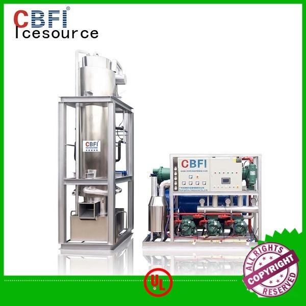 CBFI cbfi tube ice machine new design for aquatic products preservation